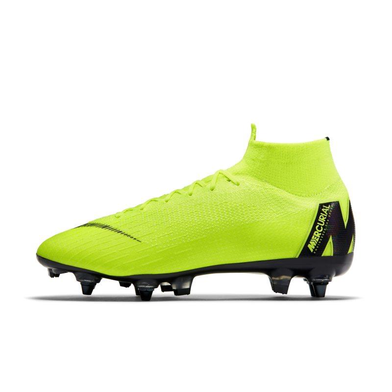 Scarpa da calcio per terreni morbidi Nike Mercurial Superfly 360 Elite SG-PRO Anti-Clog - Giallo