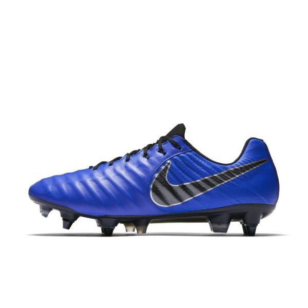 Scarpa da calcio per terreni morbidi Nike Tiempo Legend VII Elite SG-Pro Anti-Clog - Blu