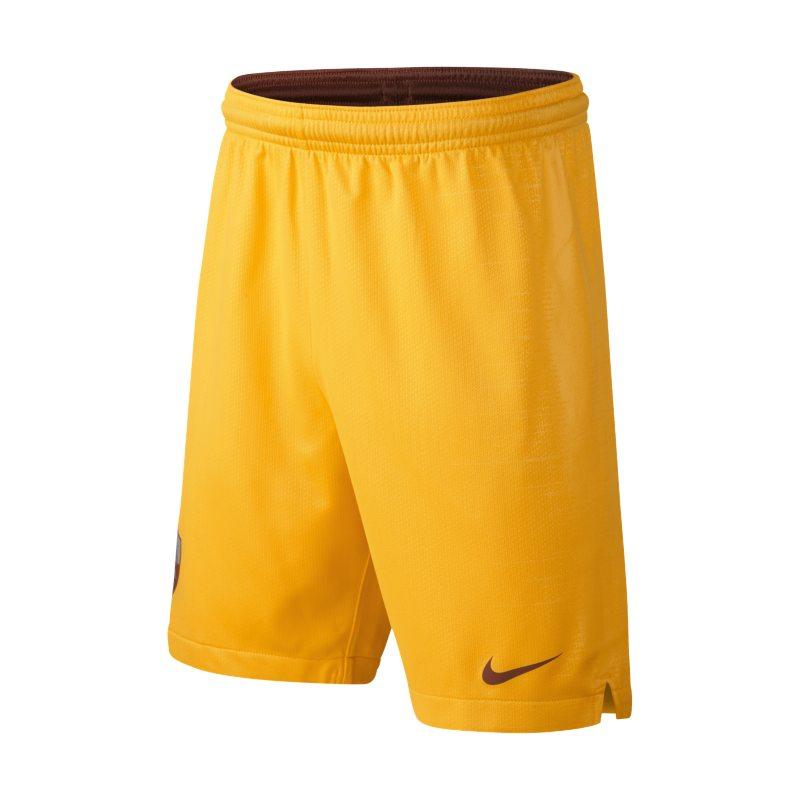 Shorts da calcio 2018/19 A.S. Roma Stadium Third - Ragazzi - Gold