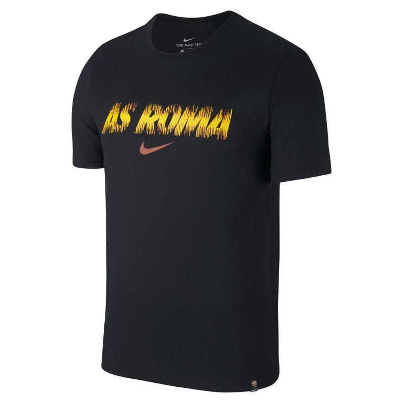 T-shirt da calcio Nike Dri-FIT A.S. Roma - Uomo - Nero