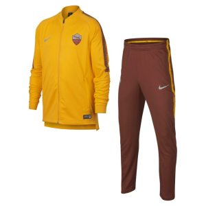 Tuta da calcio A.S. Roma Dri-FIT Squad - Ragazzi - Gold