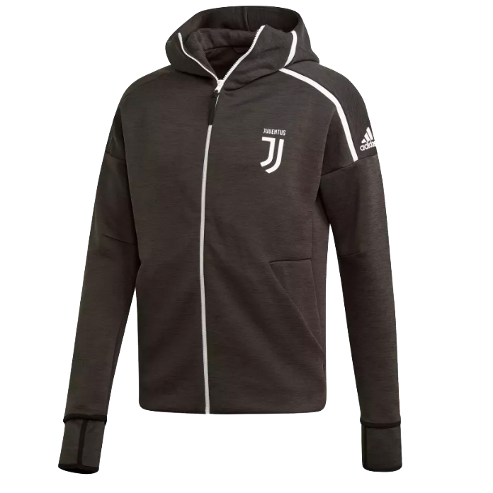 adidas - Juventus Felpa Hoodie Z.N.E Ufficiale Nera 2018-19 - Scarpini  Mania.com