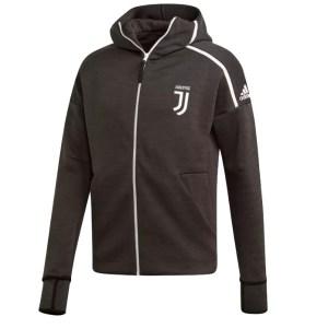 adidas - Juventus Felpa Hoodie Z.N.E Ufficiale Nera 2018-19