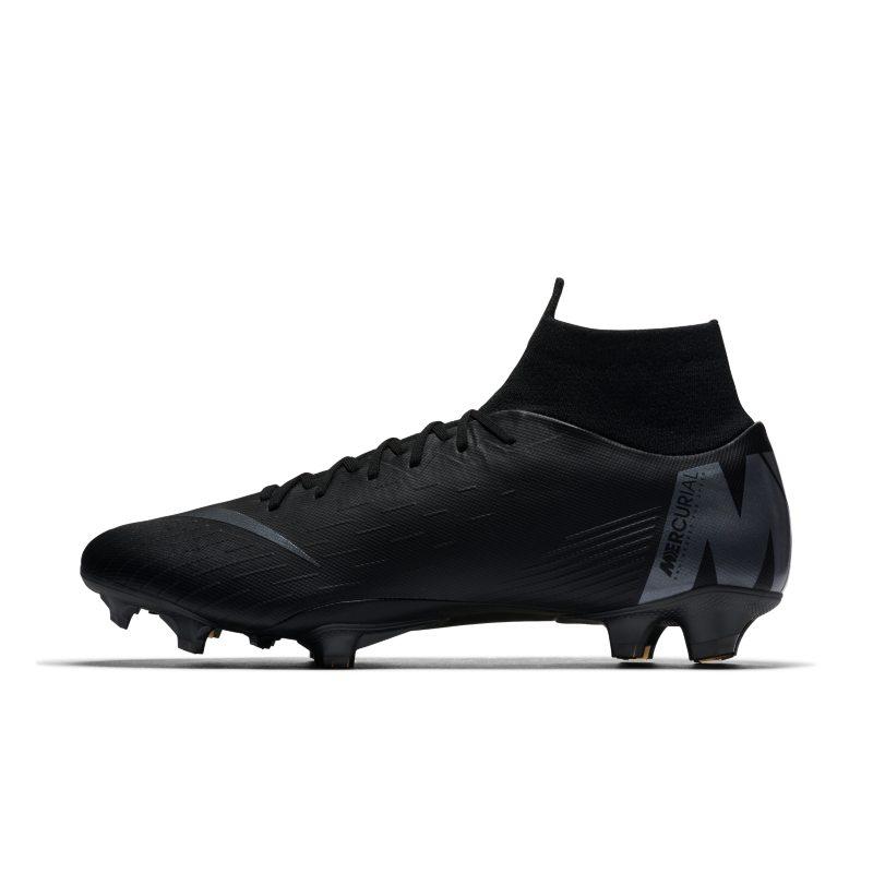 Scarpa da calcio per terreni duri Nike Mercurial Superfly VI Pro - Nero