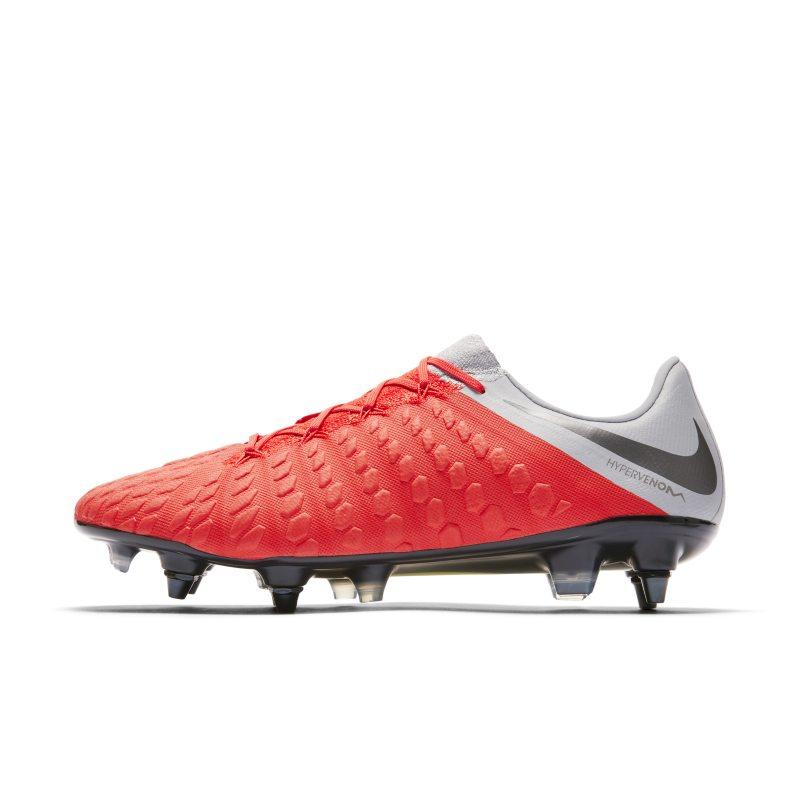 Scarpa da calcio per terreni morbidi Nike Hypervenom Phantom III Elite SG-PRO Anti-Clog - Red
