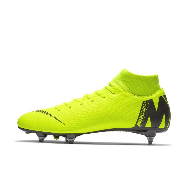 Scarpa da calcio per terreni morbidi Nike Mercurial Superfly VI Academy SG-PRO - Giallo