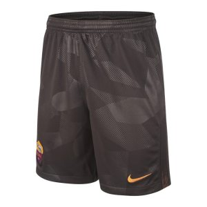 Shorts da calcio 2017/18 A.S. Roma Stadium Third - Ragazzi - Marrone