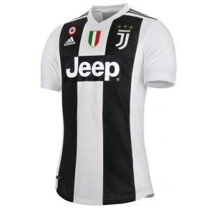 adidas - Juventus Maglia Authentic Ufficiale 2018-19 + Scudetto + Coppa Italia