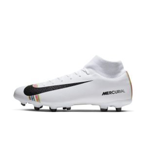 Scarpa da calcio multiterreno Nike Mercurial Superfly 6 Academy LVL UP MG - Bianco