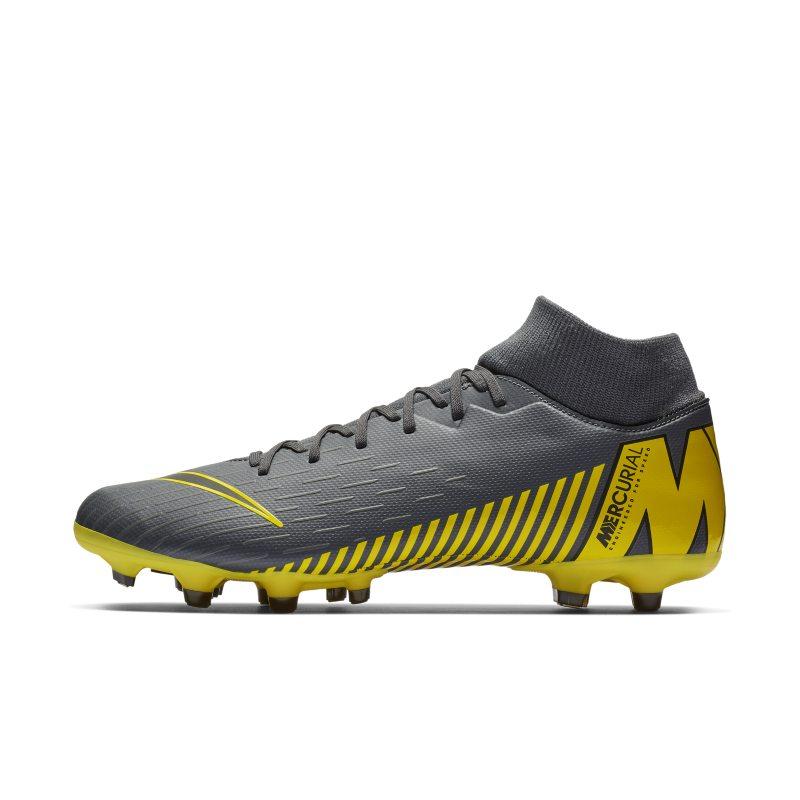 Scarpa da calcio multiterreno Nike Mercurial Superfly 6 Academy MG - Grigio