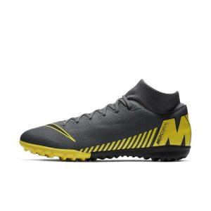 Scarpa da calcio per erba sintetica Nike SuperflyX 6 Academy TF - Grigio