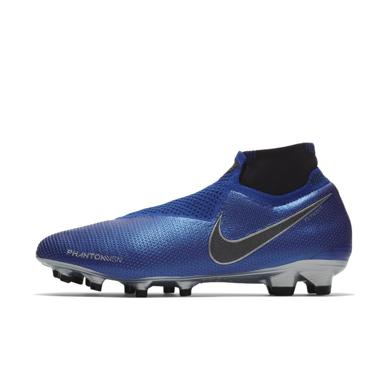 Scarpa da calcio per terreni duri Nike Phantom Vision Elite Dynamic Fit FG - Blu