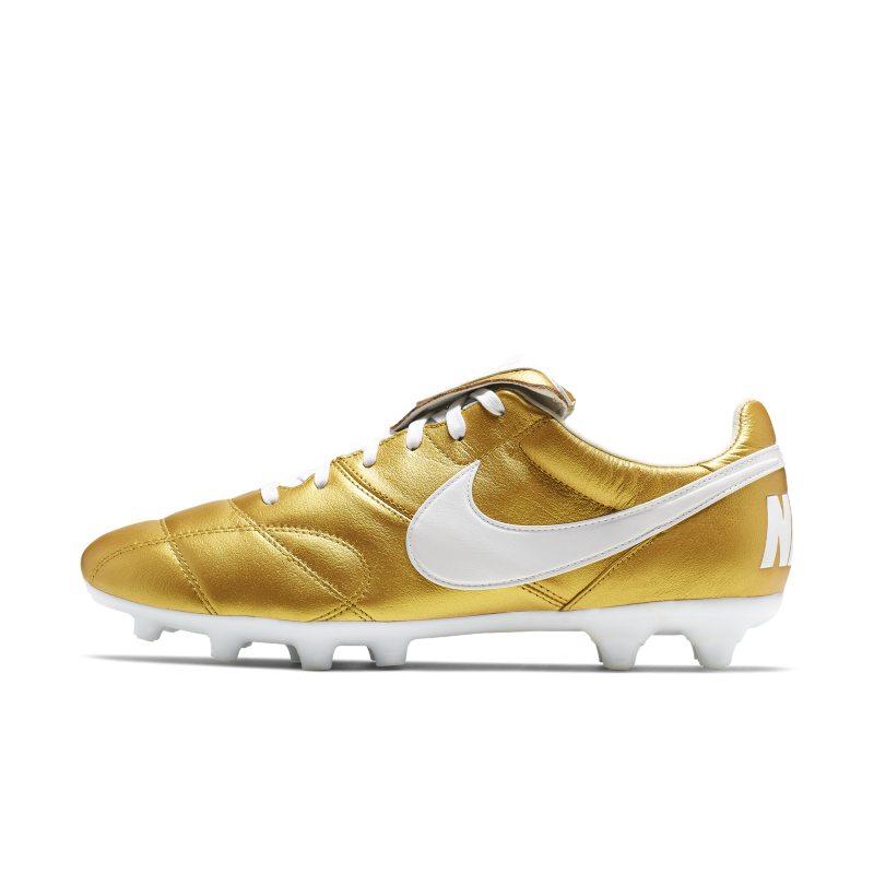 Scarpa da calcio per terreni duri Nike Premier II FG - Gold