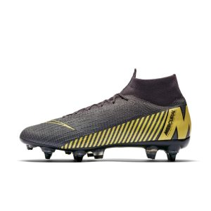 Scarpa da calcio per terreni morbidi Nike Mercurial Superfly 360 Elite SG-PRO Anti-Clog - Grigio