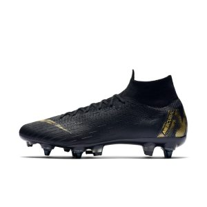 Scarpa da calcio per terreni morbidi Nike Mercurial Superfly 360 Elite SG-PRO Anti-Clog - Nero