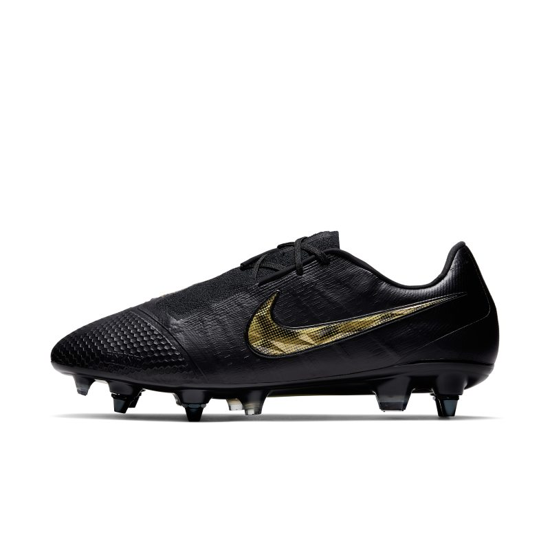 Scarpa da calcio per terreni morbidi Nike Phantom Venom Elite SG-Pro Anti-Clog Traction - Nero