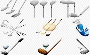 golfing clubs