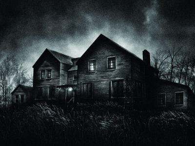 Image result for creepy haunted house