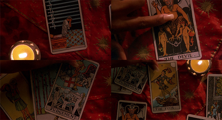 people under the stairs daddy, tarot cards