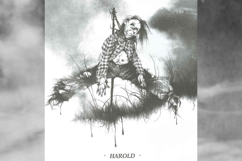 Scary Stories to Tell in the Dark Art, scary stories harold