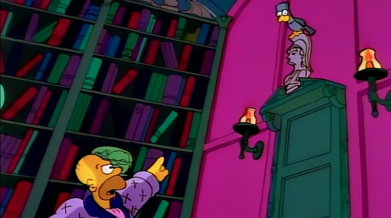 the simpsons the raven