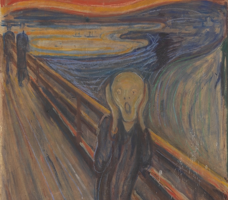 the scream painting, the scream meaning