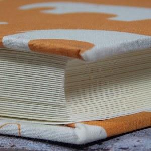 Großes Orange Kinderfotoalbum