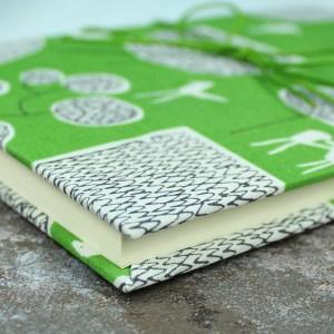 Bullet Journal grün weiß