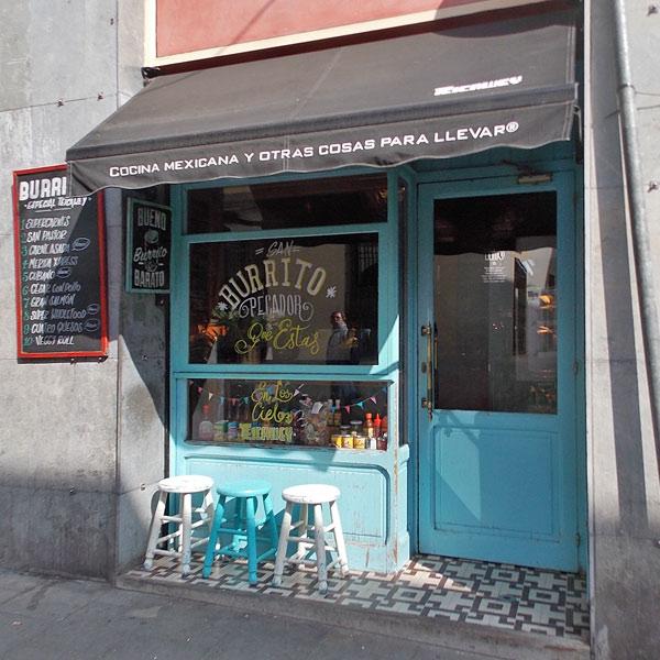 Kleiner Mexicaner in Gracià Barcelona