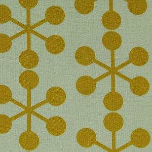 Gelb weiß quadratisches Gästebuch