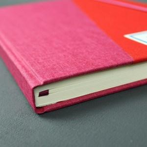 Pink Rot Buchkalender 2018