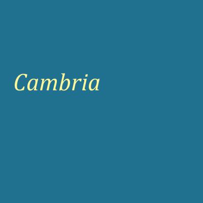 Schrifttyp-Cambria