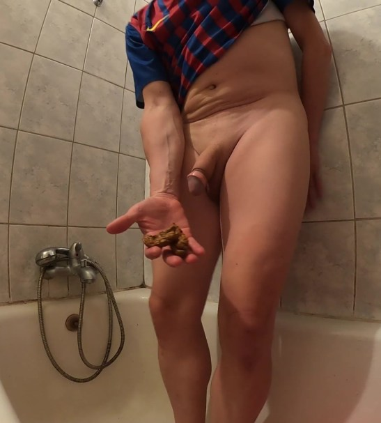 Master Mike dirty play and cum at home