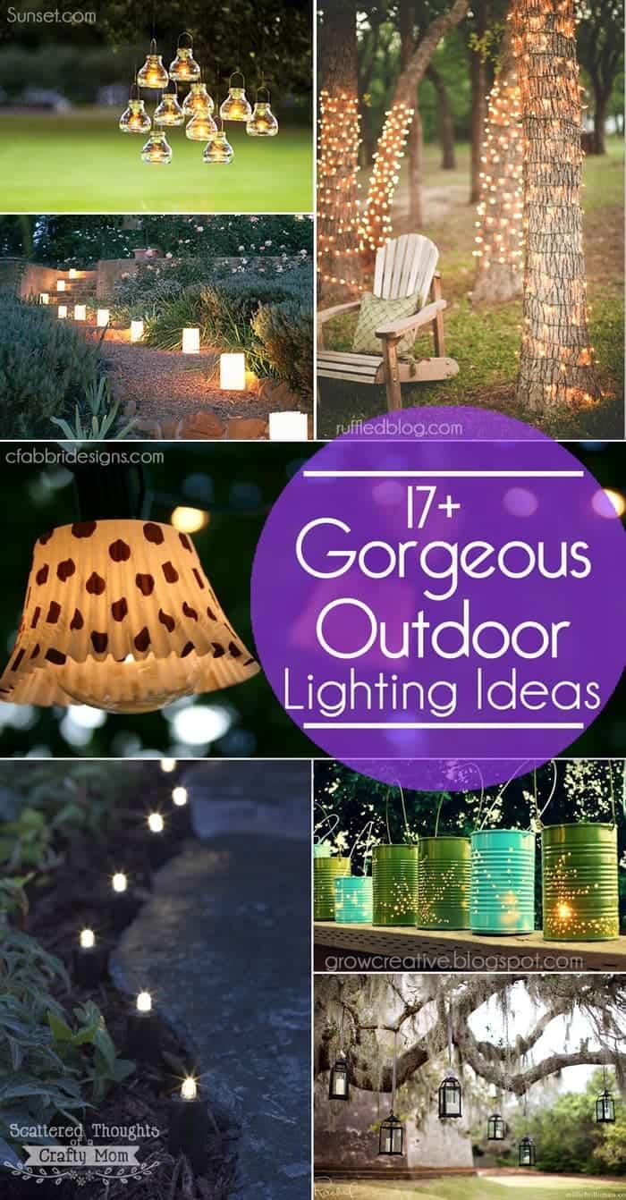 outdoor lighting ideas for the garden