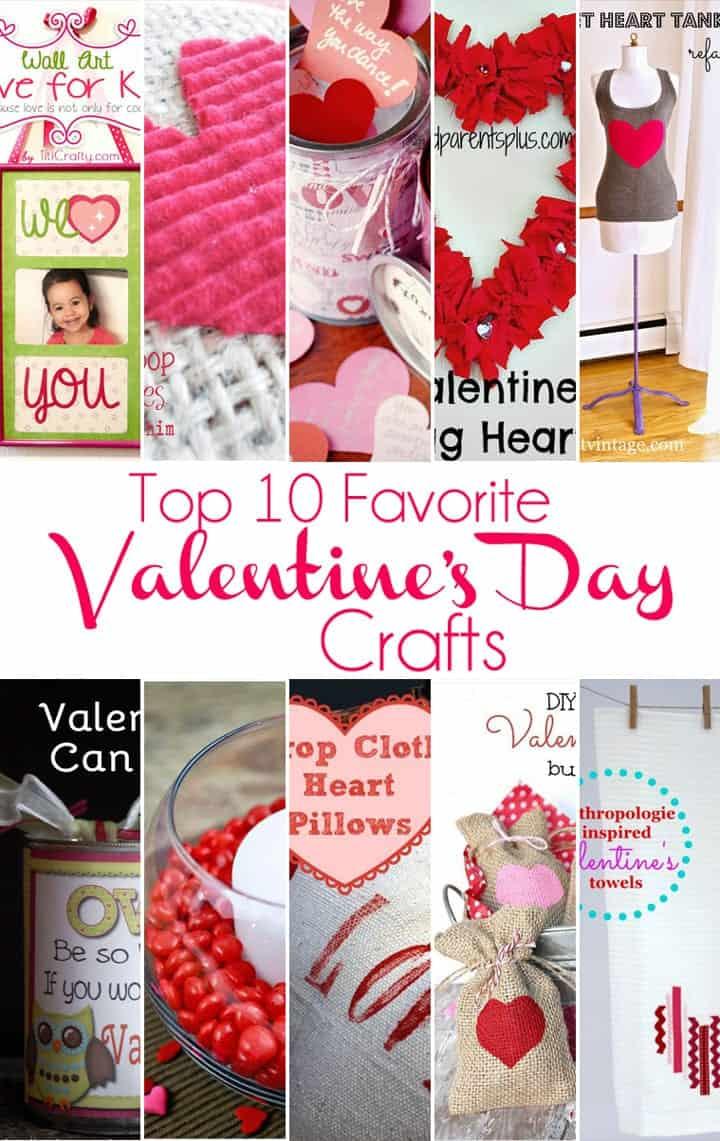 Top 10 Favorite Easy Valentines Day Crafts Big