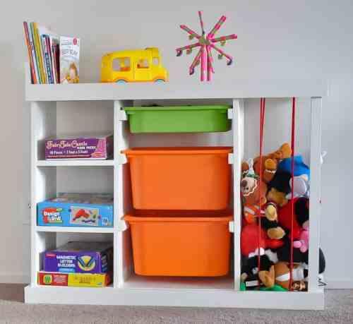 DIY Toy organizer