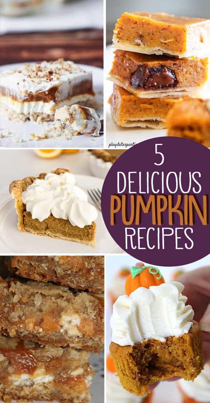 5 delicious Pumpkin recipes