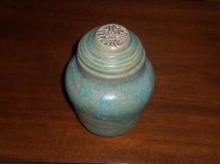 ashes into ceramic glaze