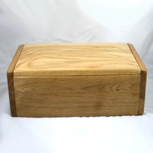 ashes cremation urn handmade wood urn double size