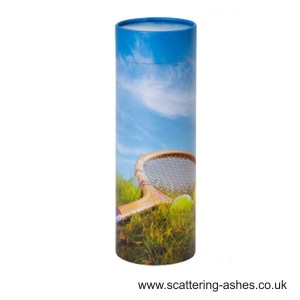 Tennis Scatter Tube for scattering ashes