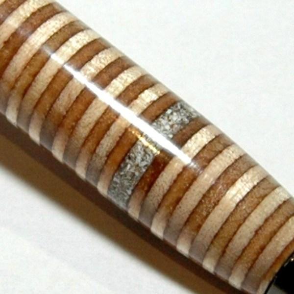 ashes into pen