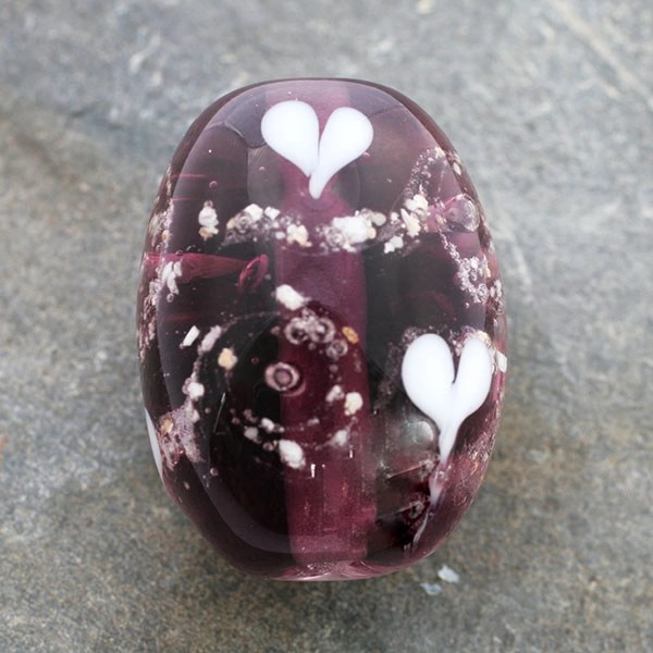 memorial glass bead