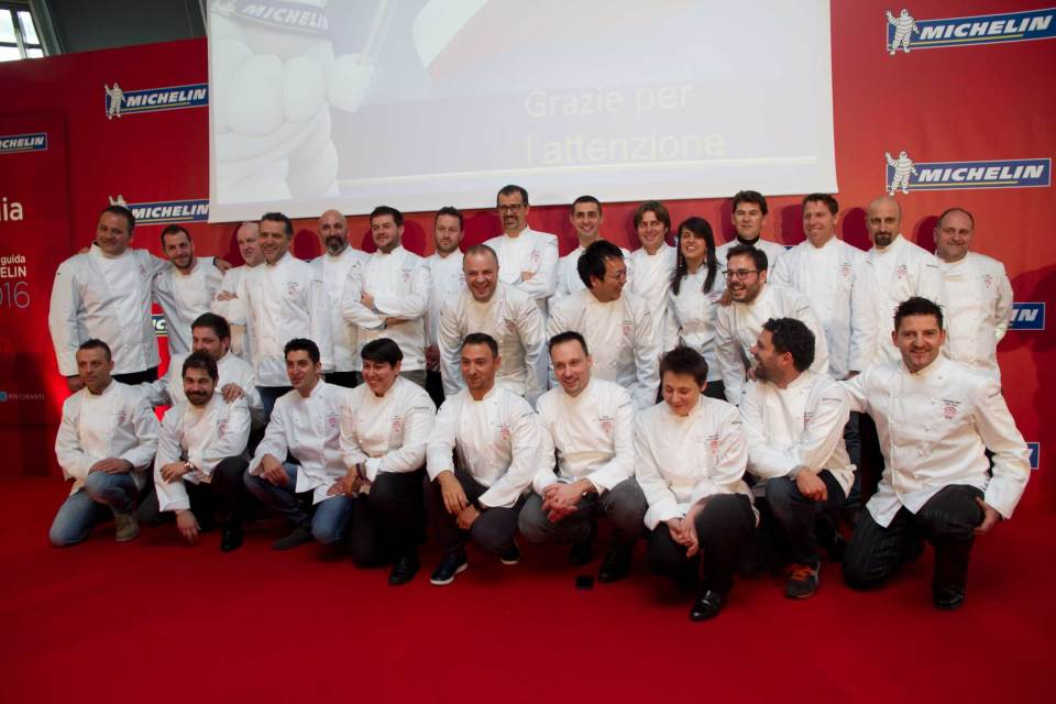 chef stelle Michelin 2016