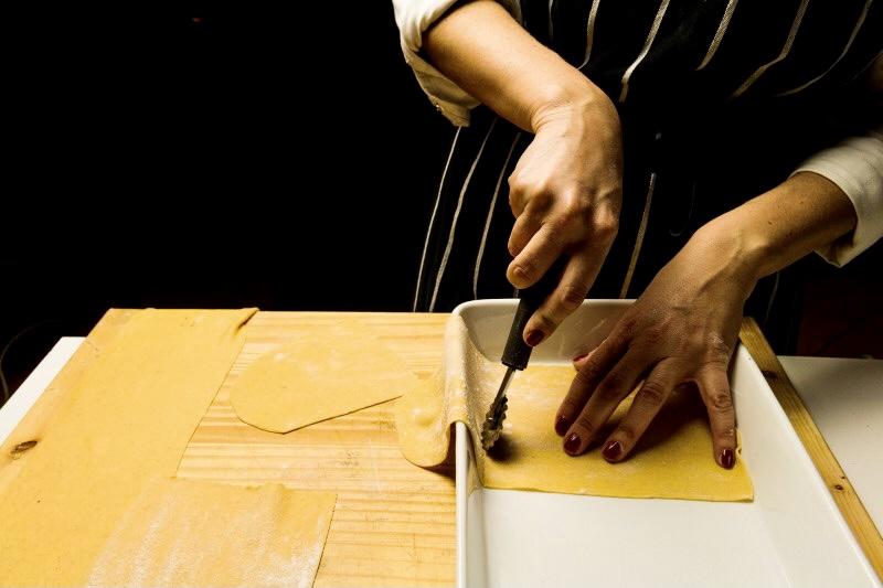 Sfoglia strisce pasta