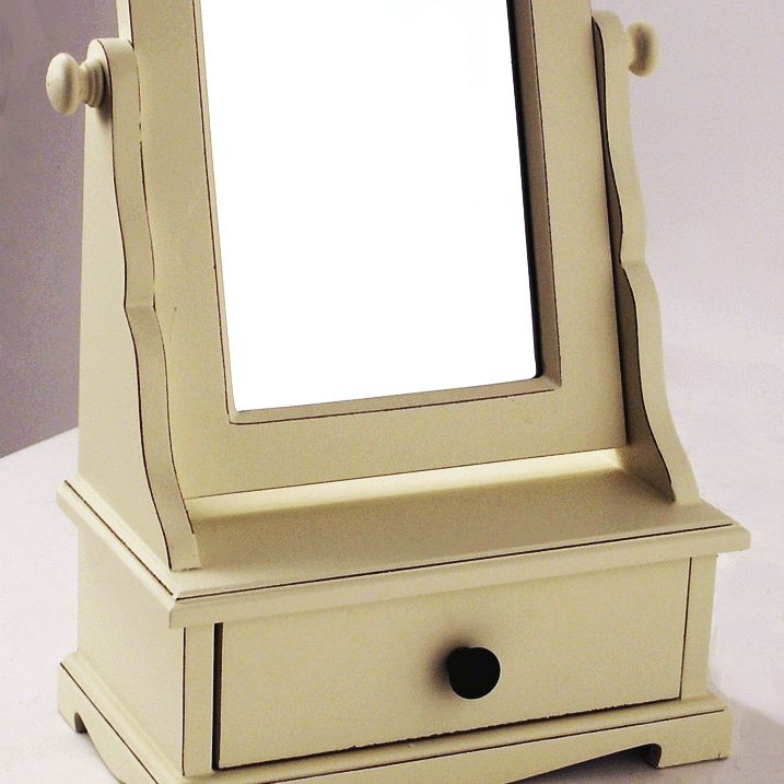 Dressing Table Mirror Storage