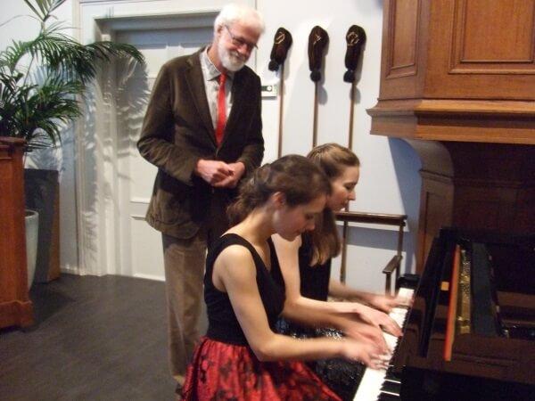 Pianoduo Beth&Flo fonkelend en speels