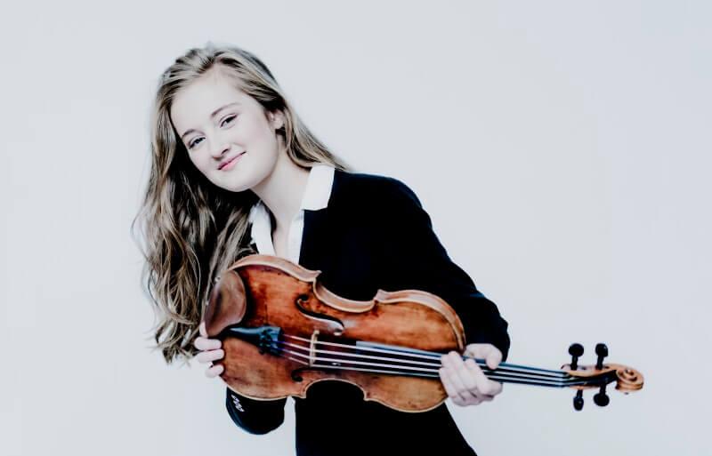 Noa Wildschut – viool & Elisabeth Brauss – piano: Werken van Schubert, De Sarasate, Franck en Saint-Saëns