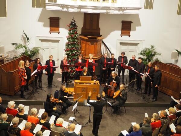 'Het mysterie van Kerst' – kerstconcert door Corde Vocali o.l.v. Eric Jan Joosse, m.m.v. Joachim Eijlander, cello
