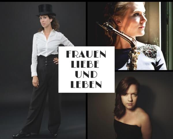'Frauen, Liebe und Leben' –  Helena Basilova (piano), Eva van Grinsven (saxofoon) en Francine Vis (mezzo-sopraan)