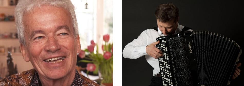 'De sneeuwstorm' van Poesjkin –  Hans Boland (voordrachtskunstenaar) en Oleg Lysenko (accordeon)